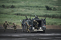 Japan Ground Self-Defense Force live-firing exercises in Gotemba