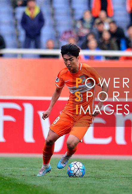 Shandong Luneng FC (CHN) vs FC Seoul (KOR) during the AFC Champions League 2016 Group Stage F at Jinan Olympic Sports Stadium on 16 March 2016 in Jinan, Shandong Province, China. Photo by Marcio Machado/Power Sport Images.