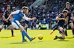 St Johnstone v Ross County…12.05.18…  McDiarmid Park    SPFL<br />Murray Davidson shoots for goal<br />Picture by Graeme Hart. <br />Copyright Perthshire Picture Agency<br />Tel: 01738 623350  Mobile: 07990 594431