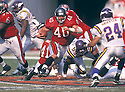 Tampa Bay Buccaneers, Mike Alstott (40) during a game against the Minnesota Vikings on November 1, 1998 at the Raymond James Stadium in Tampa, Florida. The Buccaneers beat the VIkings 27-24. Mike Alstott played for 11 years all with the Buccaneers and was a 6-time Pro-Bowler.