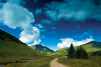 Ben Lui from Glen Cononish near Tyndrum, Loch Lomond and the Trossachs National Park