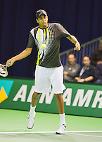 09-02-13, Tennis, Rotterdam, qualification ABNAMROWTT, Rajeev Ram