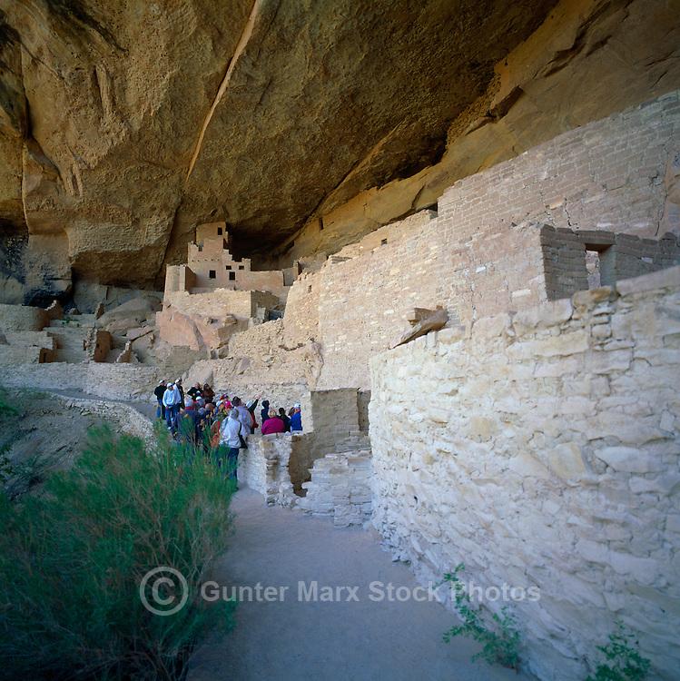 Mesa Verde National Park, Colorado, USA - Cliff Palace, an Ancestral Puebloan aka Anasazi Cliff Dwelling and Ruins