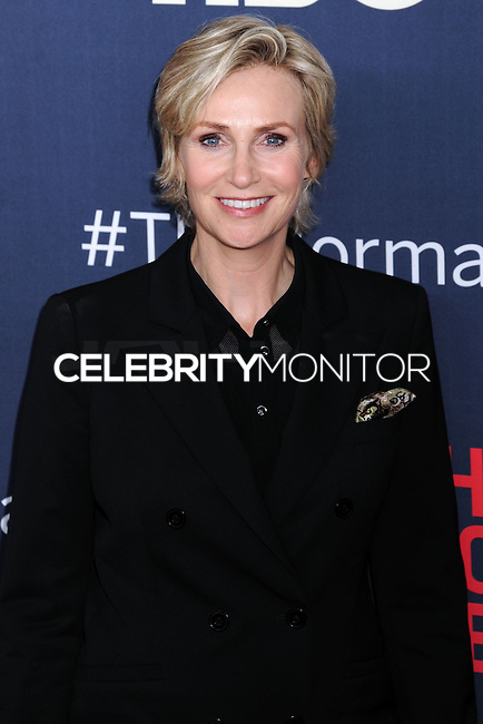 """NEW YORK CITY, NY, USA - MAY 12: Jane Lynch at the New York Screening Of HBO's """"The Normal Heart"""" held at the Ziegfeld Theater on May 12, 2014 in New York City, New York, United States. (Photo by Celebrity Monitor)"""