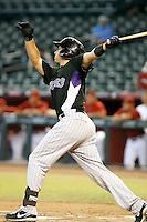 Dustin Garneau - Colorado Rockies - 2010 Instructional League.Photo by:  Bill Mitchell/Four Seam Images..