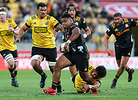 20th March 2021; Wellington, New Zealand;  Chiefs Samisoni Taukei'aho. Super Rugby Aotearoa. Hurricanes v Chiefs. Sky Stadium, Wellington. Saturday 20th March 2021.