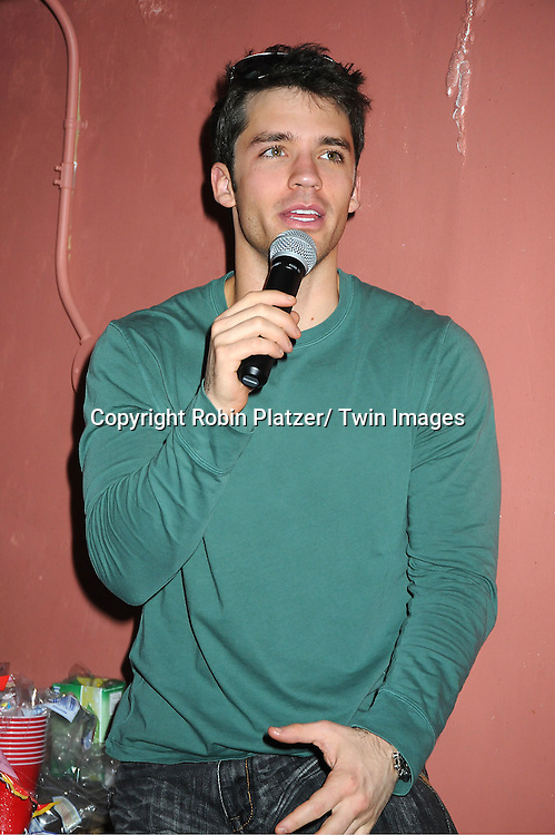 David Gregory attends The One Life To Live Benefit for The Amber Roach Memorial Garden on January 7, 2012 at Brother .Jimmy's Union Square Restaurant in New York City.