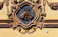 Tschechien, Prag, Hauszeichen, Unesco-Weltkulturerbe