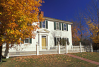 Franklin Pierce, Hillsborough, NH, New Hampshire, Franklin Pierce Homestead, a National Historic Landmark, in Hillsborough in the autumn.