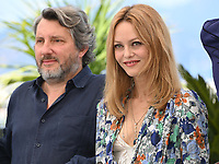 CANNES, FRANCE. July 10, 2021: Vanessa Paradis & Bruno Podalydes at the photocall for Love Songs for Tough Guys at the 74th Festival de Cannes.<br /> Picture: Paul Smith / Featureflash