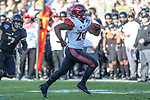 San Diego State Aztecs running back Rashaad Penny (20) in action during the Armed Forces Bowl game between the San Diego State Aztecs and the Army Black Knights at the Amon G. Carter Stadium in Fort Worth, Texas.