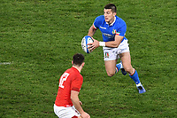 Tommaso Allan Italy <br /> Roma 9-02-2019 Stadio Olimpico<br /> Rugby Six Nations tournament 2019  <br /> Italy - Wales <br /> Foto Andrea Staccioli / Resini / Insidefoto