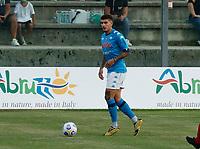 Giovanni Di Lorenzo  durante il Triangolare precampionato nel ritiro estivo  tra Napoli , L'Aquila e il Castel Di Sangro allo stadio Patini