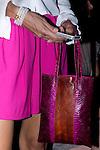 31.08.2012. Celebrities attending the Agatha Ruiz de la Prada fashion show during the Mercedes-Benz Fashion Week Madrid Spring/Summer 2013 at Ifema. In the image Candela Sastre (Alterphotos/Marta Gonzalez)