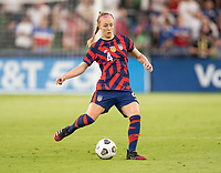 AUSTIN, TX - JUNE 16: Becky Sauerbrunn #4 of the USWNT passes the ball during a game between Nigeria and USWNT at Q2 Stadium on June 16, 2021 in Austin, Texas.