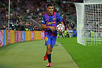 14th September 2021; Nou Camp, Barcelona, Spain; UEFA Champions league, FC Barcelona versus Bayern;   Pedri