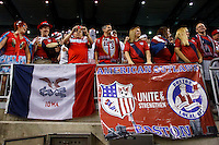 7 June 2011: American Outlaws supports group during the CONCACAF soccer match between USA and Canada at Ford Field Detroit, Michigan. USA won 2-0.