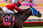 DEL MAR, CA  JULY 31: #8 Dr. Schivel, ridden by Flavien Prat, edges out #7 Eight Rings, ridden by Abel Cedillo, to win the Bing Crosby Stakes (Grade l) Breeders Cup Win and You're In Sprint Division on July 31, 2021 at Del Mar Thoroughbred Club in Del Mar, CA. (Photo by Casey Phillips/Eclipse lSportswire/CSM)
