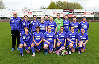 Finale Beker van West-Vlaanderen Vrouwen FC Knokke - SK Opex Girls Oostende :  ploegfoto SKOG Oostende<br /> foto VDB / BART VANDENBROUCKE