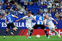 22nd September 2021: RCDE Stadium, Barcelona, Spain: La Liga Football, Espanyol versus Atletico Madrid; <br /> Luis Rioja of Deportivo Alaves