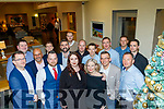 Staff of Aspen Grove Solutions, Castlemaine Road, Tralee celebrating their Christmas party in Ballyroe heights hotel, Tralee last Friday night.