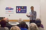 Hillary Clinton supporters, Pre-Caucus meeting, Port Townsend, Bruce Cowan, Democratic Chair, Jefferson County, Washington State, Jefferson County WA Democrats for Hillary, Washington State for Change,
