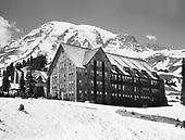 0409-04 Paradise Lodge, Mt. Rainier, 1947