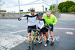 My Names Doddie Fundraiser: Rugby Club Cyclists fund raising  for My Names is Doddie Foundation pictured at Tarber Bridewell on Monday morning last. L-R : Laurence Denver, Rob Sanders & Steward Porter.