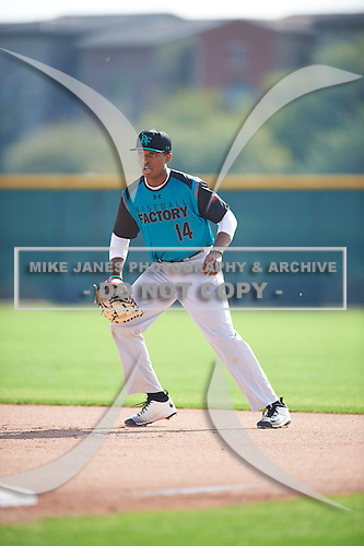 John Malcom (14) of Detroit Country Day High School in West Bloomfield, Michigan during the Under Armour All-American Pre-Season Tournament presented by Baseball Factory on January 14, 2017 at Sloan Park in Mesa, Arizona.  (Mike Janes/Mike Janes Photography)