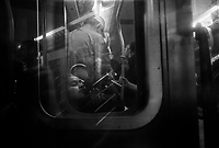 New York, May 13, 2009.On the '4' train.