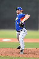 New York Mets pitcher John Gant (1) during a minor league spring training game against the St. Louis Cardinals on March 27, 2014 at the Port St. Lucie Training Complex in Port St. Lucie, Florida.  (Mike Janes/Four Seam Images)