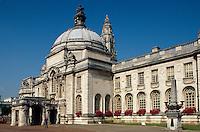 Großbritannien, Wales, Cardiff, Rathaus