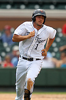 Lakeland Flying Tigers designated hitter Nick Castellanos #1 during a game against the Daytona Cubs at Joker Marchant Stadium on April 29, 2012 in Lakeland, Florida.  Lakeland defeated Daytona 6-4.  (Mike Janes/Four Seam Images)