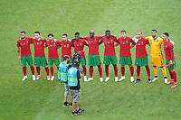 Portugal bei der Hymne<br /> - Muenchen 19.06.2021: Deutschland vs. Portugal, Allianz Arena Muenchen, Euro2020, emonline, emspor, <br /> <br /> Foto: Marc Schueler/Sportpics.de<br /> Nur für journalistische Zwecke. Only for editorial use. (DFL/DFB REGULATIONS PROHIBIT ANY USE OF PHOTOGRAPHS as IMAGE SEQUENCES and/or QUASI-VIDEO)