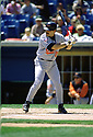 CIRCA 1997: Rafael Palmeiro #25 of the Baltimore Orioles at bat  during a game from his 1997 season agaisnt the Chicago White Sox. Rafael Palmeiro played 20 seasons, with 3 different teams and was a 4-time All-Star.  (Photo by: 1997 SportPics)  *** Local Caption *** Rafael Palmeiro