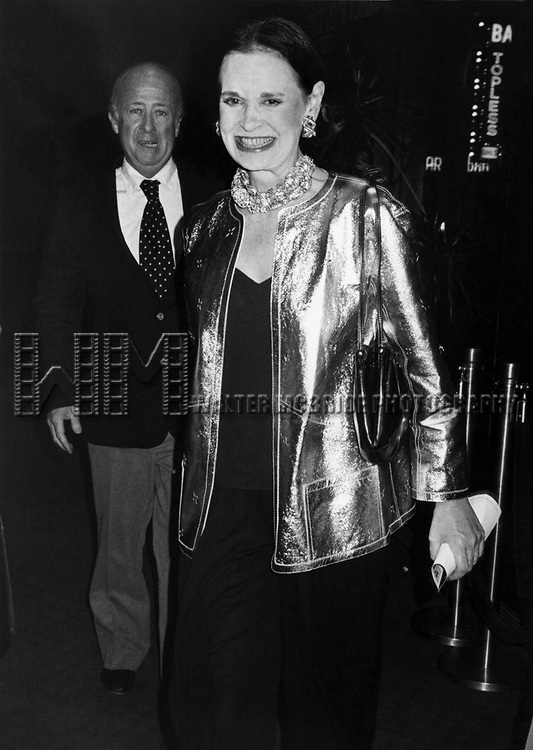 Gloria Vanderbilt at the Salute to Eugene O'Neill on October 1, 1981 in New York City.