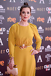 Nuria Gago attends to the Red Carpet of the Goya Awards 2017 at Madrid Marriott Auditorium Hotel in Madrid, Spain. February 04, 2017. (ALTERPHOTOS/BorjaB.Hojas)