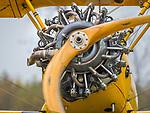 Lycoming 680 engine on Stearman Bi-Plane.