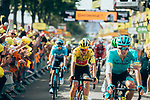Giulio Ciccone (ITA) Trek-Segafredo loses the Yellow Jersey as he crosses the finish line of Stage 8 of the 2019 Tour de France running 200km from Macon to Saint-Etienne, France. 13th July 2019.<br /> Picture: ASO/Thomas Maheux   Cyclefile<br /> All photos usage must carry mandatory copyright credit (© Cyclefile   ASO/Thomas Maheux)