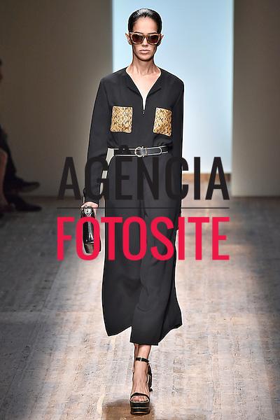 Milao, Itália '09/2014 - Desfile de  Salvatore Ferragamo durante a Semana de moda de Milao  -  Verao 2015. <br /> <br /> Foto: FOTOSITE
