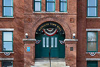 Town Hall exterior, Plymouth, New Hampshire, USA.