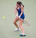 Christina McHale (USA) defeats Yulia Putintseva (KAZ) 6-2, 1-6, 7-5 at the Citi Open in Washington, DC,  on August 6, 2015.