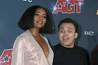 """LOS ANGELES - SEP 18:  Gabrielle Union, Kodi Lee at the """"America's Got Talent"""" Season 14 Finale Red Carpet at the Dolby Theater on September 18, 2019 in Los Angeles, CA"""
