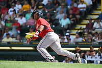 Minnesota Twins infielder Heiker Meneses (78) during a Spring Training game against the Pittsburgh Pirates on March 13, 2015 at McKechnie Field in Bradenton, Florida.  Minnesota defeated Pittsburgh 8-3.  (Mike Janes/Four Seam Images)