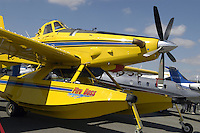"- antifire water bomber  Wipaire ""Fire Boss"" (Canada)<br />