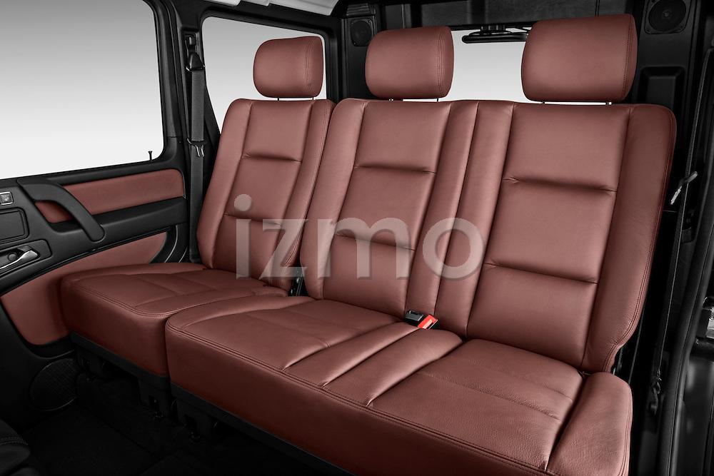 2013 Mercedes-Benz G-Class G550 SUV Rear Seat Stock Photo