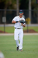 Detroit Tigers Riley Greene (13) during warmups before an Instructional League instrasquad game on September 20, 2019 at Tigertown in Lakeland, Florida.  (Mike Janes/Four Seam Images)