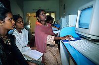"S?dasien Asien Indien IND Tamil nadu .Computer Ausbildung f?r Dalits in laendlichen Gebieten -  Kasten Kaste Kastensystem Bildung Chancengleichheit Entwicklung Armutsbekaempfung Inder indisch xagndaz | .South Asia India Tamil Nadu .centre for education and training of young dalit people  -  PC communication gender  .| [ copyright (c) Joerg Boethling / agenda , Veroeffentlichung nur gegen Honorar und Belegexemplar an / publication only with royalties and copy to:  agenda PG   Rothestr. 66   Germany D-22765 Hamburg   ph. ++49 40 391 907 14   e-mail: boethling@agenda-fototext.de   www.agenda-fototext.de   Bank: Hamburger Sparkasse  BLZ 200 505 50  Kto. 1281 120 178   IBAN: DE96 2005 0550 1281 1201 78   BIC: ""HASPDEHH"" ,  WEITERE MOTIVE ZU DIESEM THEMA SIND VORHANDEN!! MORE PICTURES ON THIS SUBJECT AVAILABLE!! INDIA PHOTO ARCHIVE: http://www.visualindia.net ] [#0,26,121#]"