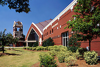 The new (1999) Ebenezer Baptist Church near the Visitor Center at the Martin Luther King Center, Atlanta, Georgia