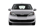 Car photography straight front view of a 2017 Skoda Citigo Ambition 5 Door Hatchback